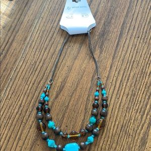 Jaclyn Smith Beaded Necklace NWT